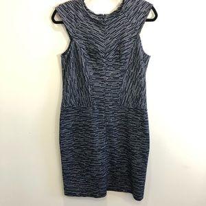 Ann Taylor Structured Bodycon Career Dress Sz 6